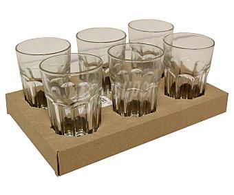 EFG Vasos de vidrio para agua o refrescos, 36 cl de capacidad, modelo Evora Pack de 6 unidades
