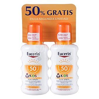 Eucerin Spray solar infantil FP 50+ Pack 2x200 ml