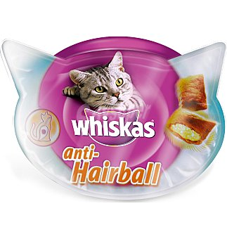 Whiskas Snacks antihairball 60 G