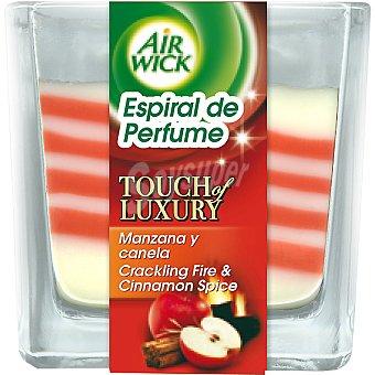 Air Wick Ambientador vela espiral de perfume manzana y canela Envase 1 unidad