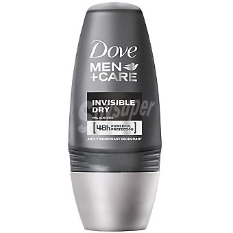 Dove Desodorante roll-on For Men Invisible dry sin alcohol Envase 50 ml