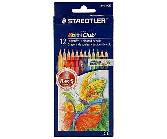 Staedtler Caja con 12 lápices para colorear con sistema de protección de la mina 1 unidad