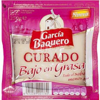 García Baquero Queso curado bajo en grasa 250 g