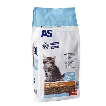 AS Alimento para gatos junior Bolsa 1,5 kg