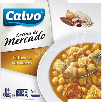 Calvo callos con garbanzos bandeja 350 g