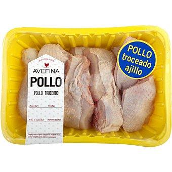AVEFINA Pollo Troceado Bandeja 1,7 kg peso aprox.