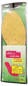 Comfor Fresh Plantilla aloe 22/46 2 unidades