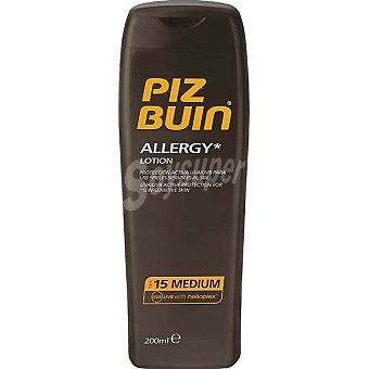 PIZ BUIN Allergy loción solar para pieles sensibles FP-15 frasco 200 ml