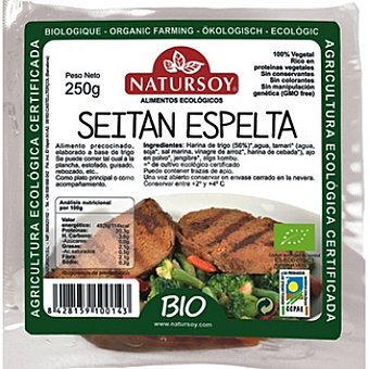Natursoy Seitán de espelta 100% vegetal Envase 250 g