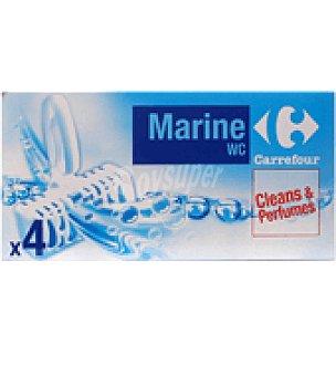 Carrefour Colgador wc sólido marino 4 ud