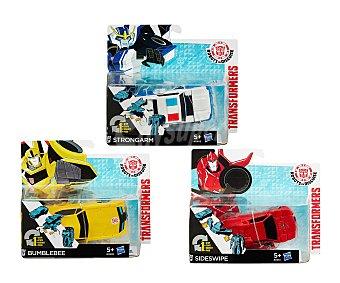 Transformers Figuras articuladas transformables en vehículos, Cambio mágico 1 unidad