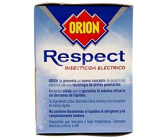 RESPECT ORION Insecticida eléctrico antimosquitos común y tigre sin olor más recambio 1 unidad
