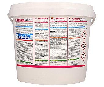 Pqs Tratamiento 5 funciones (desinfectante, algicída, floculante, antical y regulador del PH) en tabletas de 200 gramos 5 Kilogramos