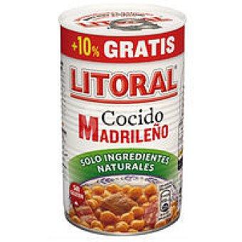 Litoral Cocido madrileño Lata 440 g +10%
