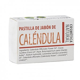 Equimercado Jabón de manos en pastilla de Caléndula ecológico 85 G 85 g