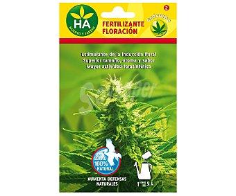 HA-Huerto y Jardín Fertilizante floración soluble, sobre para preparar 5 Litros 20 Gramos