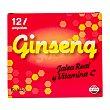 Ampollas ginseng/jalea real/vitamina C Caja 12 u Deliplus