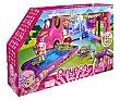 Conjunto de juego Caravana Cool con piscina y luces, incluye 1 figura pinypon Mix & Match  Pin y pon