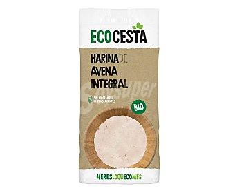 Ecocesta Harina de avena integral de cultivo ecológico 500 g
