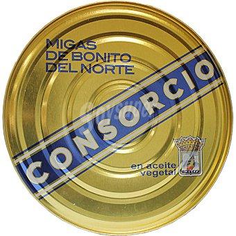 Consorcio Bonito en migas en aceite vegetal Lata 695 g neto escurrido