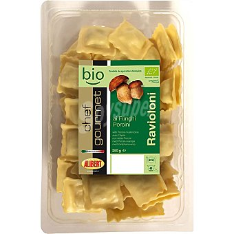 Alibert chef gourmet bio Ravioloni rellenos con funghi Envase 250 g