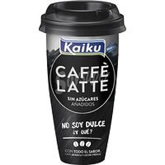 Kaiku Caffe Latte Caffe Latte sin azúcar Vaso 230 ml
