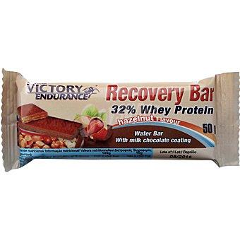 VICTORY ENDURANCE Wafer de proteínas sabor chocolate con avellana  envase de 50 g