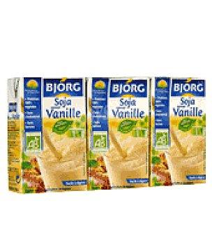 Bjorg Batido mini soja vainilla Pack de 3x25 cl