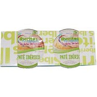 Iberitos Paté ibérico Pack 2x50 g