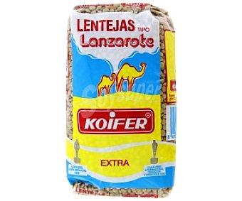 KOIFER Lenteja tipo Lanzarote 500 Gramos