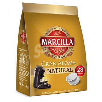 Marcilla Café gran aroma natural Estuche 28 cápsulas