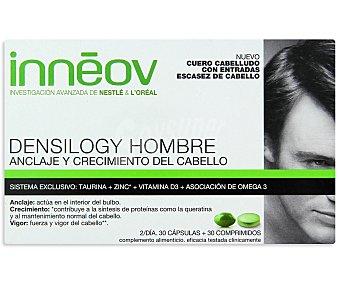 Innéov Tratamiento cabello hombre (anclaje y crecimiento del cabello) DENSILOGY 60 Comprimidos