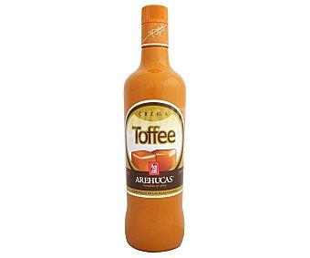 Arehucas Crema de Tofee elaborada en las Islas Canarias Botella de 70 cl