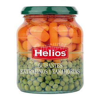 Helios Guisantes extrafinos y zanahorias 220 g