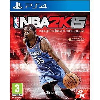 PS4 Videojuego Nba 15  1 unidad