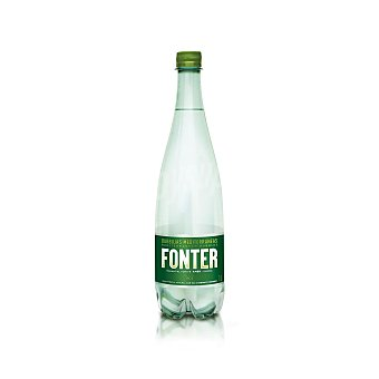 Fonter Agua mineral natural con Gas Botella 1 lt