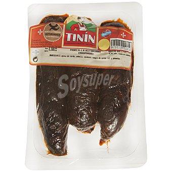 Tinín Morcilla asturiana Bandeja de 300 g