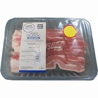 NATUR Duroc Filete de panceta de cerdo Eroski Bandeja 500 g
