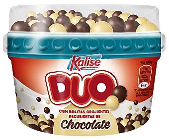 Kalise Yogur natural con bolitas de arroz recubiertas de chocolate Duo 150 g