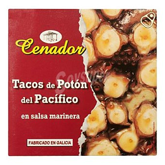 Cenador Tacos de potón en salsa marinera 160 g