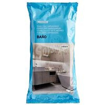 Eroski Toallitas limpia baño Pack 50 unid