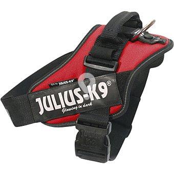 Julius K9 arnés para perros color rojo medidas 58-76CM peso aproximado 12-25 kg 1 unidad