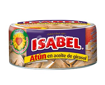 ISABEL Atún en aceite de girasol Lata de 160 g