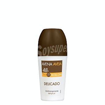 Deliplus Desodorante roll-on unisex cuidado avena (marron) Bote 50 ml