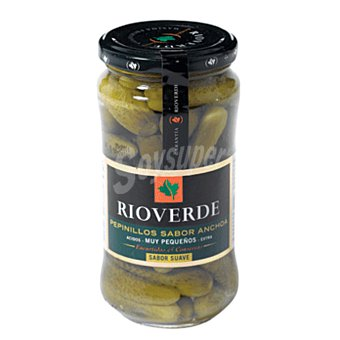 Rioverde Pepinillos pequeños con sabor a anchoa Frasco de 180 gramos