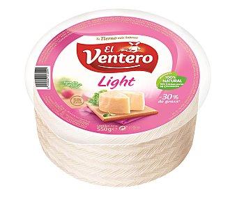 El Ventero Queso tierno light mini sin gluten pieza  550 g