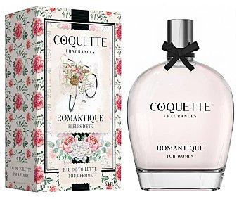 Coquette Colonia para mujer con vaporizador en spray y fragancia a flores de verano romantique 100 ml