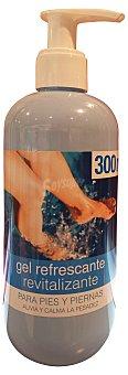 Deliplus Gel pies y piernas refrescante dosificador Botella de 300 ml