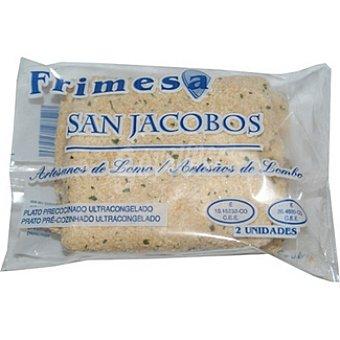 FRIMESA Sanjacobo artesanos de lomo 2 unidades envase 250 g 2 unidades