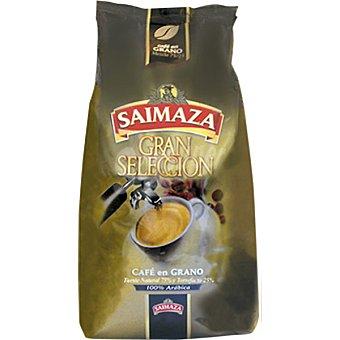 Saimaza Gran selección café en grano mezcla 75-25 paquete 1 kg Paquete 1 kg